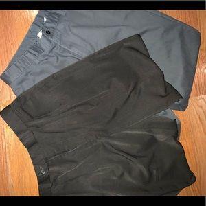 Shorts - Men's Shorts Bundle - Navy Blue & Light Blue